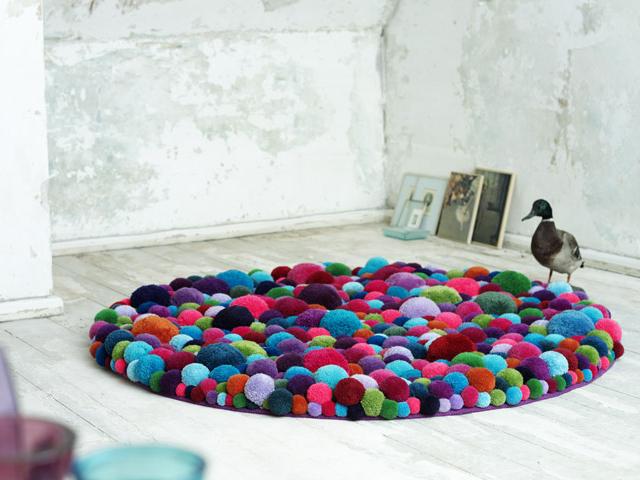Mẫu thảm đẹp cho sàn nhà ấm áp 19