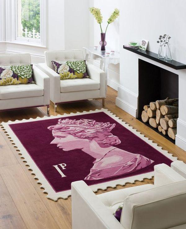 Mẫu thảm đẹp cho sàn nhà ấm áp 7