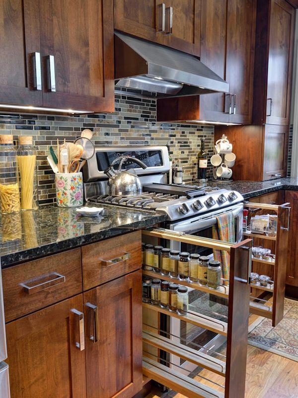 Nhà bếp đơn giản, tiện nghi và hiện đại