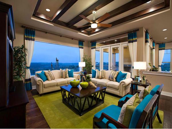 Phòng khách phong cách nhiệt đới cho nhà Việt hiện đại