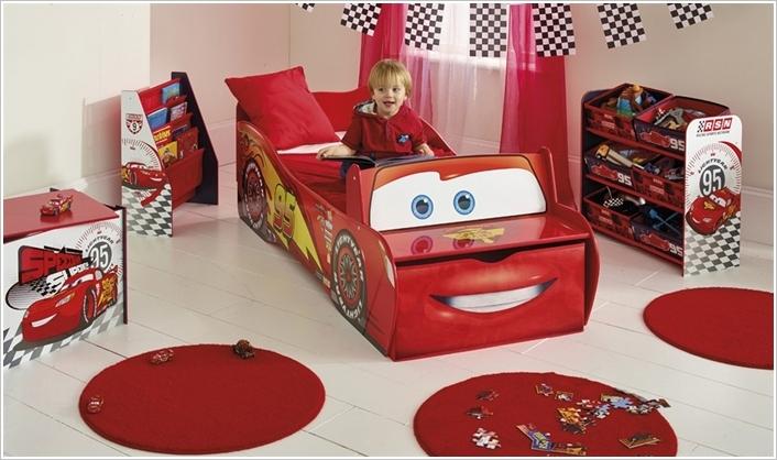 Phòng ngủ đồ chơi ngộ nghĩnh cho bé yêu