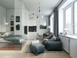 Nội thất đơn giản, tiện nghi và hiện đại cho nhà nhỏ