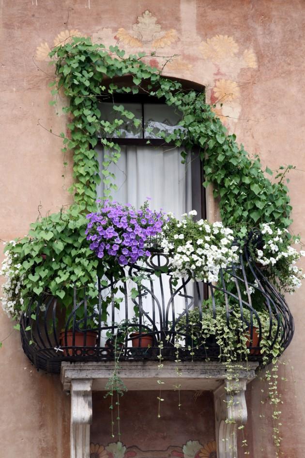 Wedo thiết kế vườn hoa đẹp cho ban công