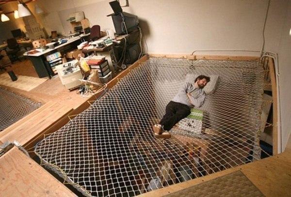 Wedo thiết kế giường ngủ lưới độc đáo và thư giãn