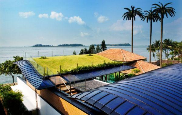 Wedo thiết kế mái nhà xanh ấm áp với cỏ