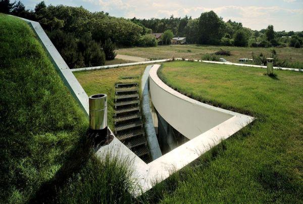 Wedo thiết kế mái nhà xanh với cỏ