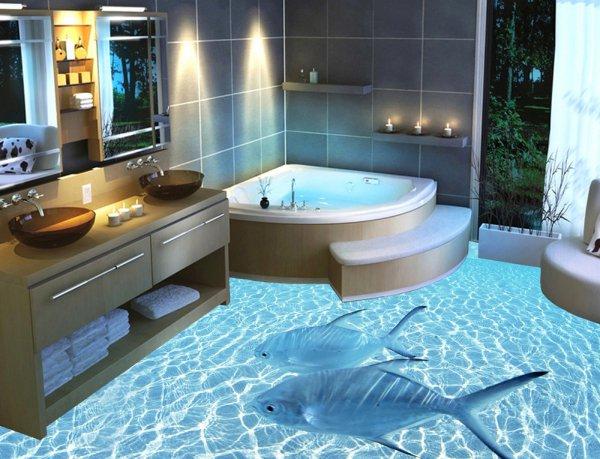 Wedo thiết kế phòng tắm lạ mắt và thư giãn