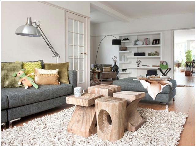 Wedo thiết kế thêm bàn ghế cho phòng khách