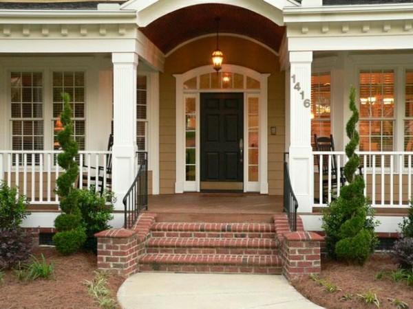 Wedo thiết kế không gian trước cửa nhà đẹp và sang trọng