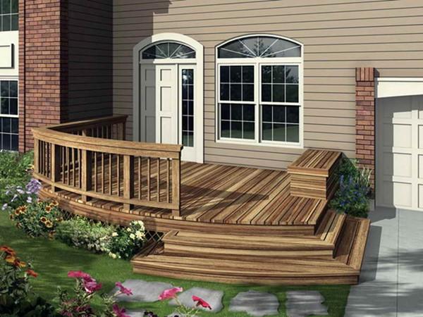 Wedo thiết kế cửa nhà và không gian ngoại thất đẹp, sang trọng