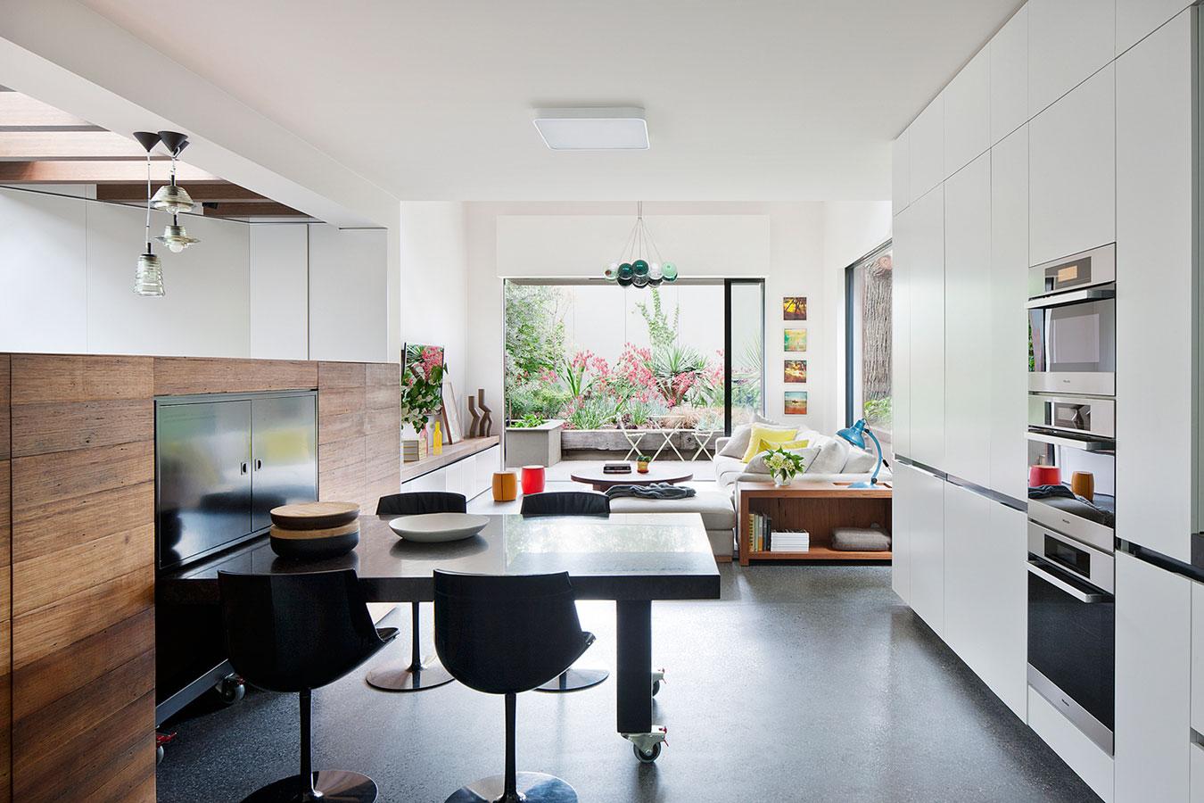 Wedo thiết kế phòng ăn kết hợp phòng khách đẹp
