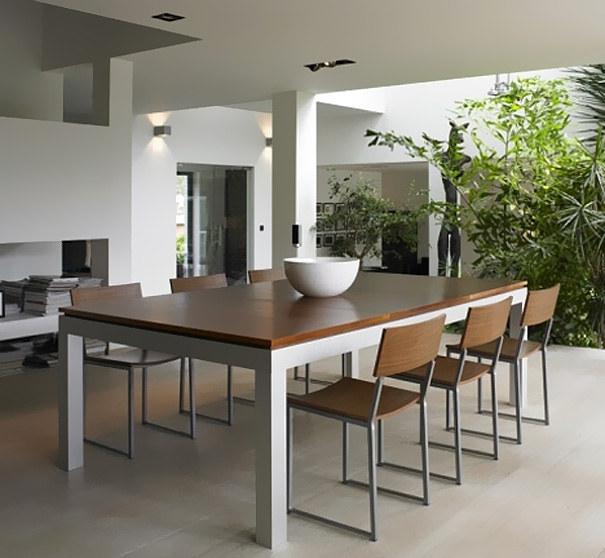 Wedo thiết kế bàn ăn kiêm bàn bi a cho nhà nhỏ