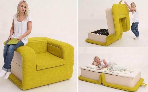 Wedo thiết kế sofa đa chức năng cho nhà nhỏ