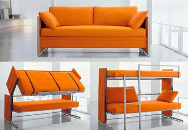 Wedo thiết kế sofa kiêm giường tầng cho nhà nhỏ