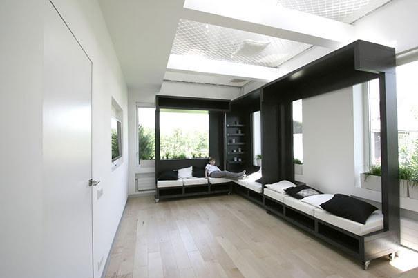 Wedo thiết kế khu vực giải trí và nghỉ ngơi cho nhà nhỏ