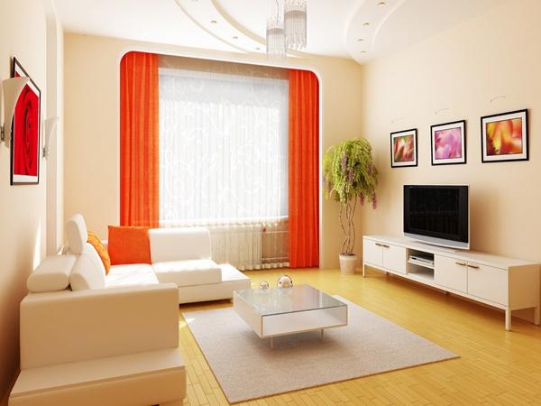 Wedo thiết kế nội thất phòng khách đẹp và rẻ giúp phòng rộng hơn