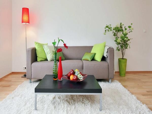 Wedo thiết kế nội thất phòng khách rẻ và đẹp cho người trẻ bận rộn