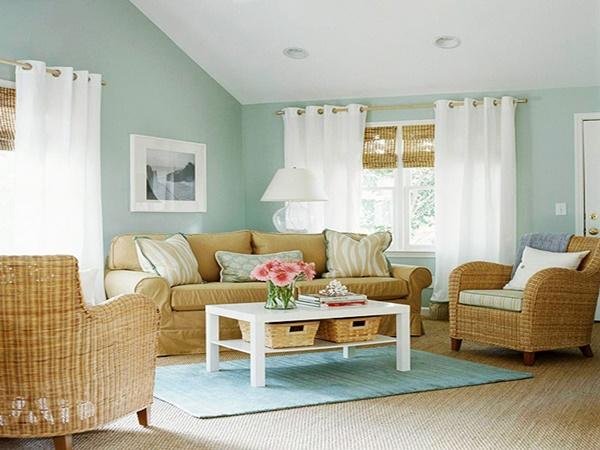 Wedo thiết kế nội thất phòng khách rẻ, đơn giản và thoải mái cho người già