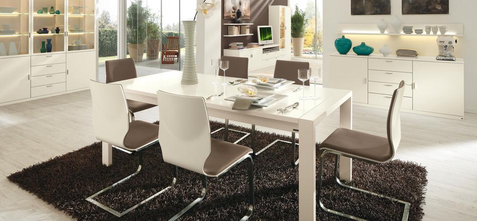 Wedo thiết kế nội thất phòng ăn tinh tế với gam màu trắng