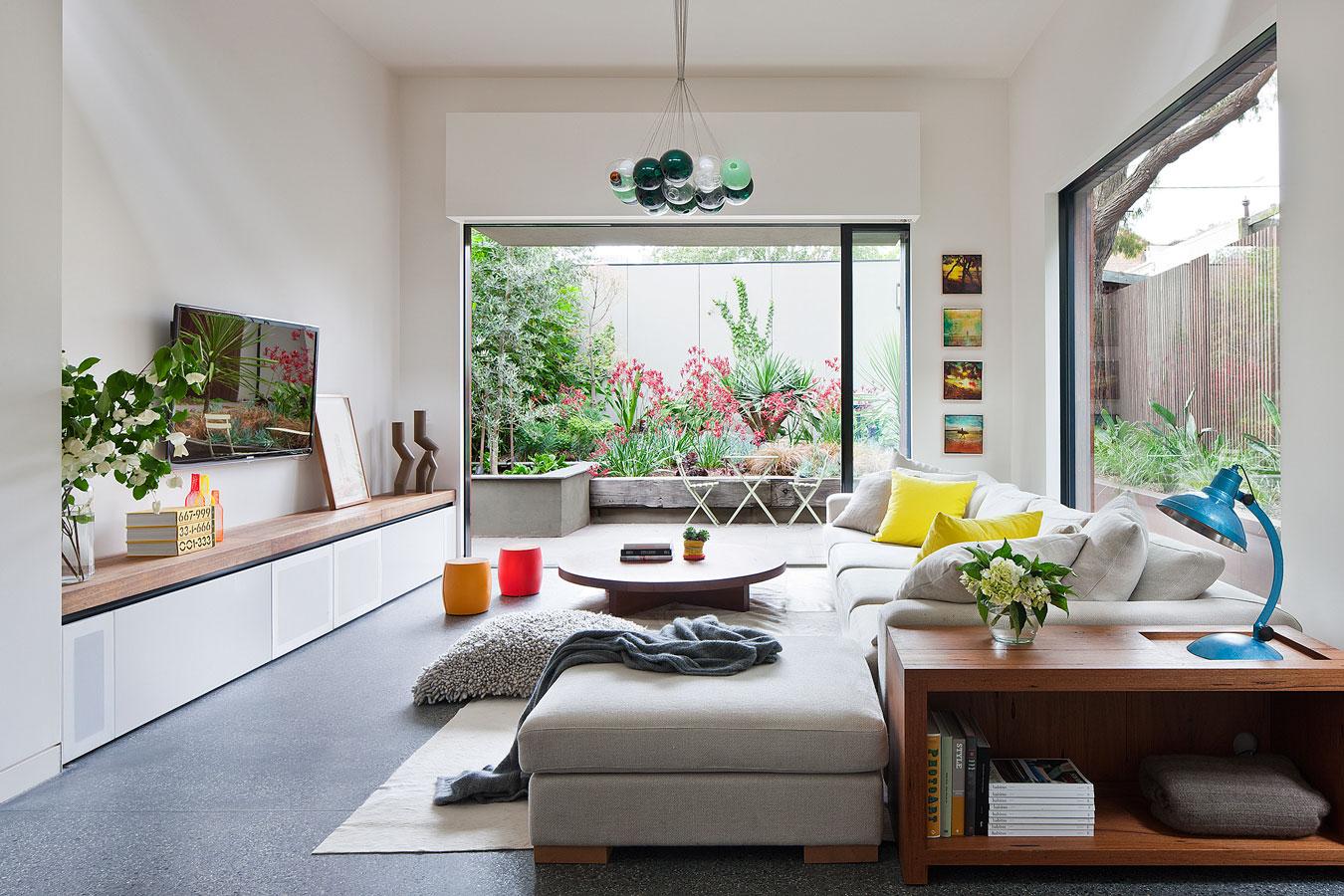 Wedo thiết kế phòng khách đơn giản và đẹp