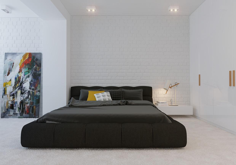 Wedo thiết kế nội thất phòng ngủ đẹp với màu vàng