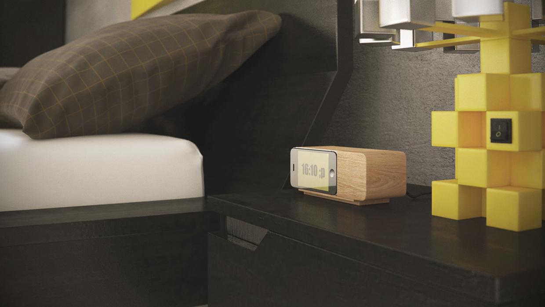 Wedo thiết kế nội thất phòng ngủ đẹp với màu trầm và vàng