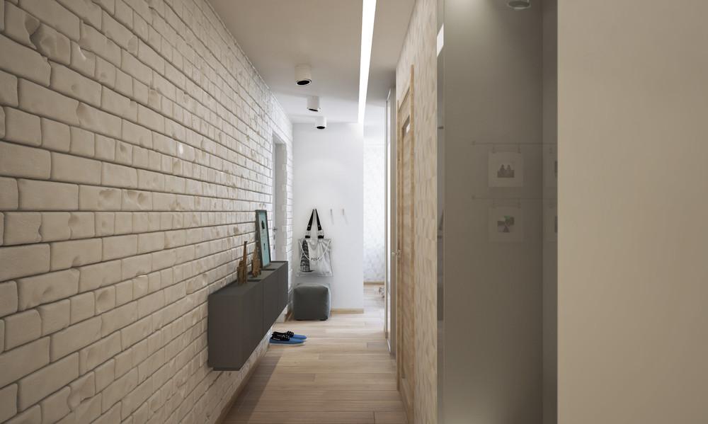 Wedo thiết kế nội thất sáng sủa, gọn gàng cho căn hộ 1 phòng ngủ