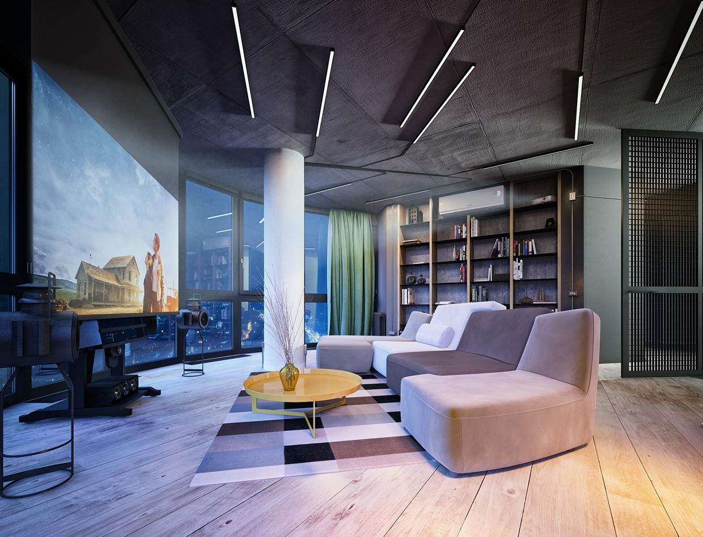 Wedo thiết kế nội thất đơn giản và sang trọng cho căn hộ áp mái