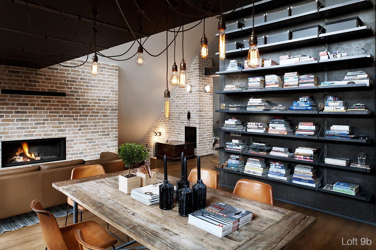 Wedo thiết kế nội thất đẹp như mơ với gạch trần cho căn hộ áp mái