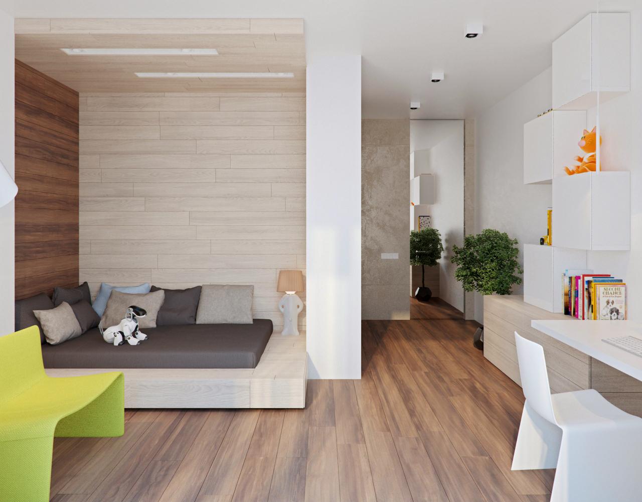 Wedo thiết kế nội thất phòng ngủ đẹp, sang trọng với gỗ và đá