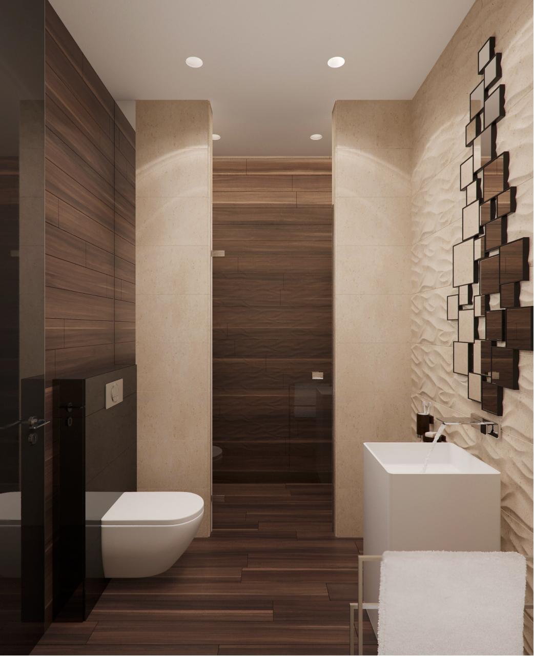 Wedo thiết kế nội thất phòng tắm đẹp, sang trọng với gỗ và đá