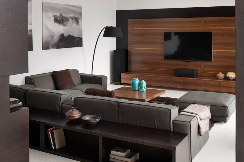 Wedo thiết kế nội thất phòng khách nhà đẹp với gỗ tự nhiên