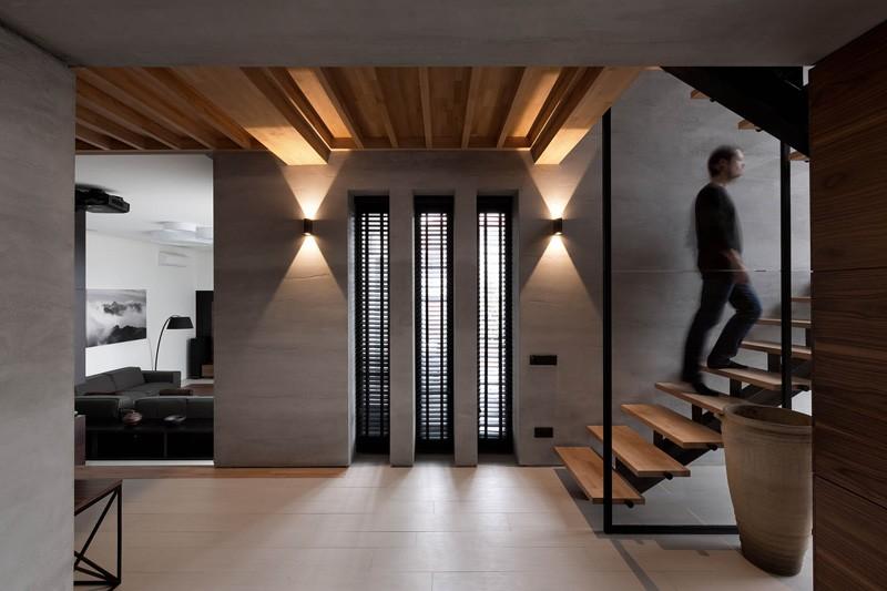 Wedo thiết kế cầu thang đẹp với gỗ tự nhiên