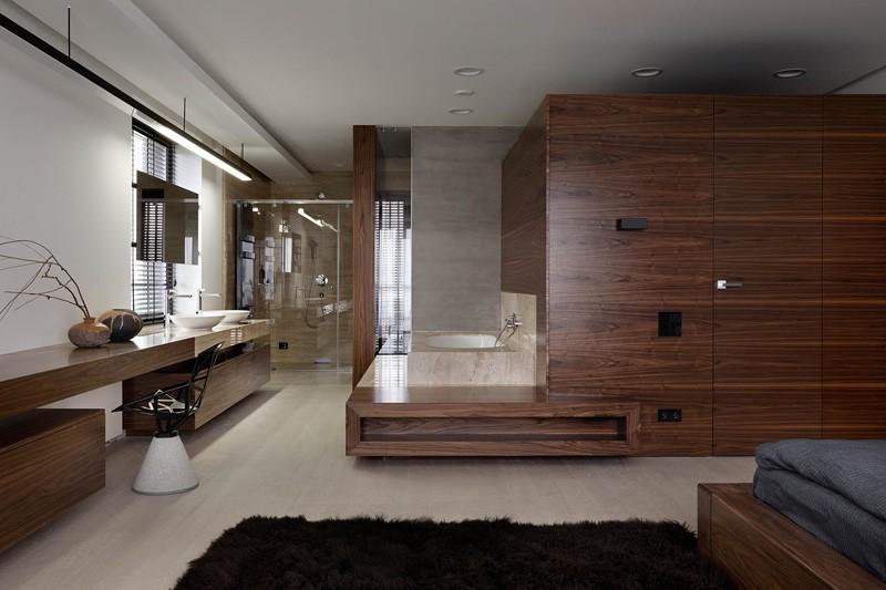 Wedo thiết kế nội thất phòng ngủ cho nhà đẹp với gỗ tự nhiên