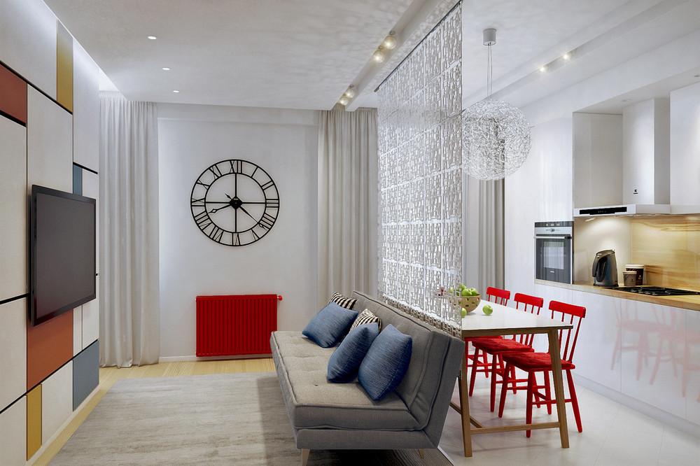 Wedo thiết kế nội thất phòng khách đẹp cho nhà diện tích nhỏ