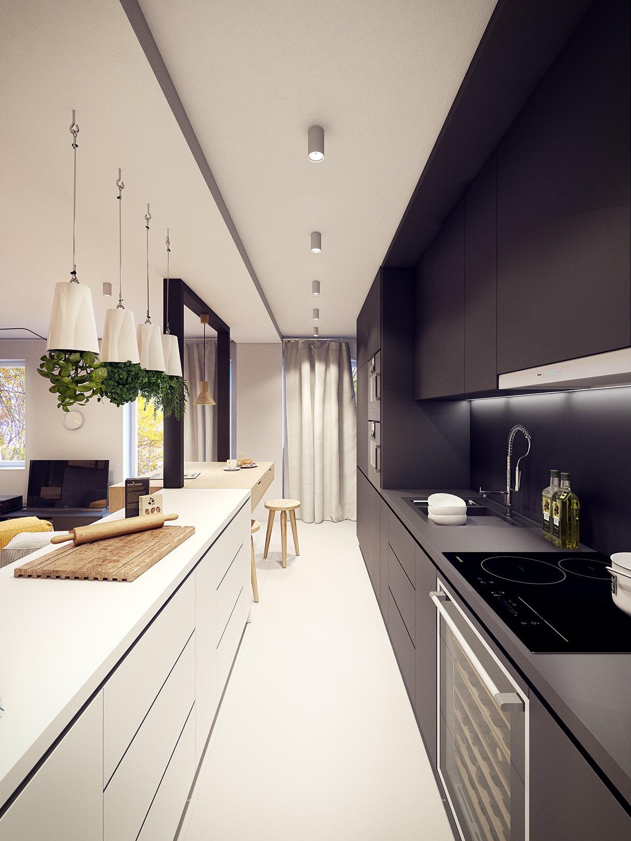 Wedo thiết kế nội thất nhà bếp đẹp lấy cảm hứng từ xu hướng thiết kế từ những năm 60