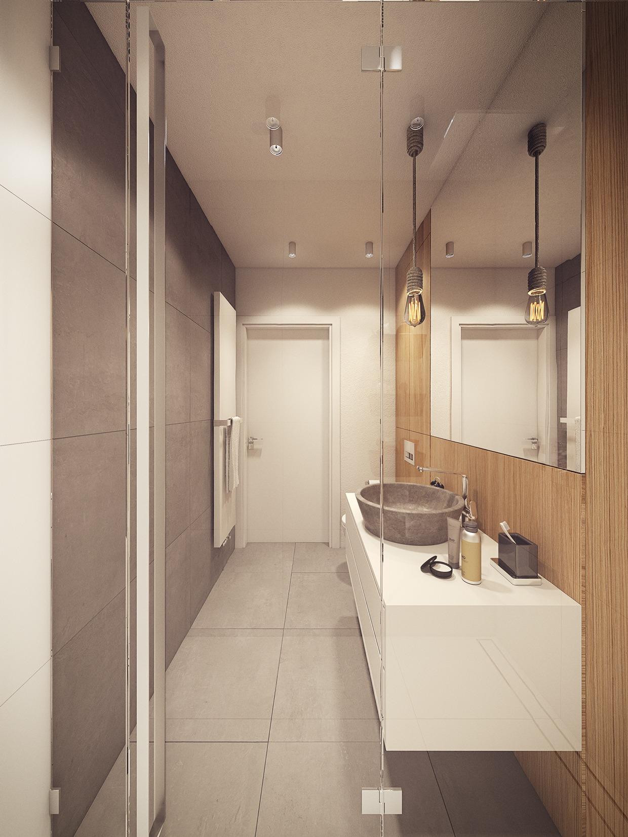 Wedo thiết kế nội thất nhà tắm đẹp lấy cảm hứng từ xu hướng thiết kế những năm 60