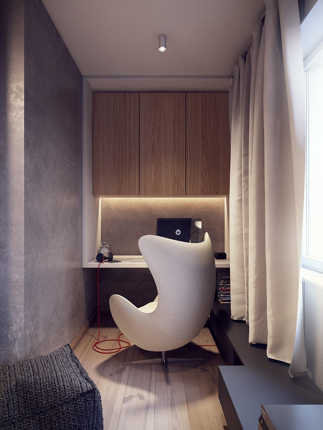 Wedo thiết kế nội thất phòng khách đẹp lấy cảm hứng từ xu hướng những năm 60