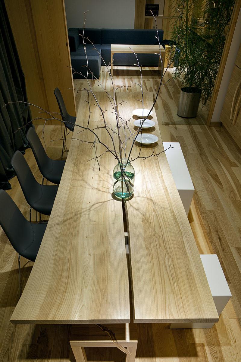 Wedo thiết kế nội thất phòng ăn đẹp và sang trọng với gỗ tự nhiên
