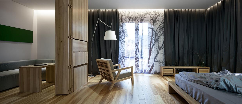 Wedo thiết kế nội thất phòng ngủ đẹp và sang trọng với gỗ sồi tự nhiên