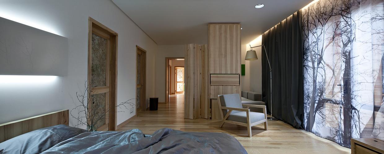 Wedo thiết kế nội thất phòng ngủ đẹp với gỗ sồi tự nhiên