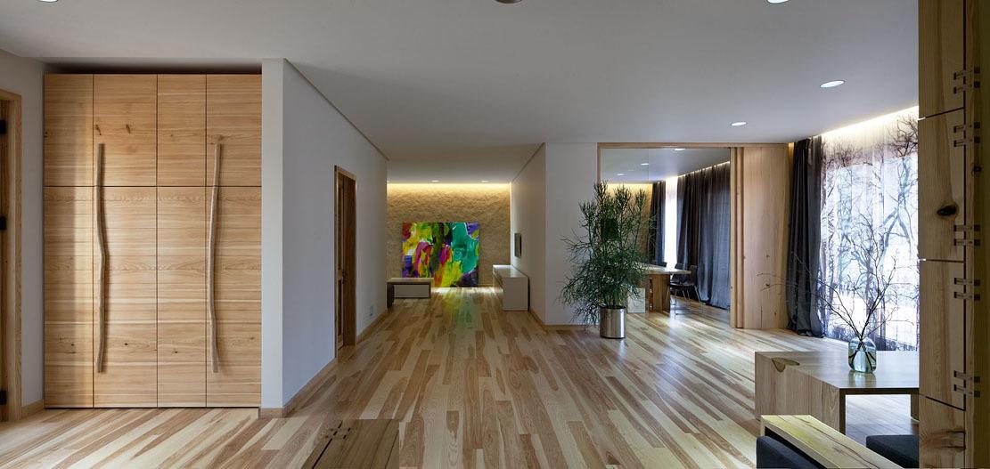 Wedo thiết kế nội thất nhà đẹp và sang trọng với gỗ sồi tự nhiên