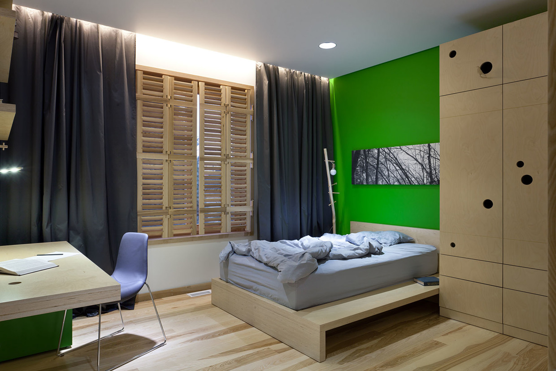 Wedo thiết kế nội thất phòng ngủ đẹp và sang trọng với gỗ sồi