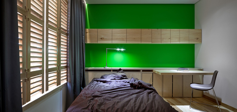 Wedo thiết kế nội thất phòng ngủ đẹp và sang trọng với gỗ tự nhiên