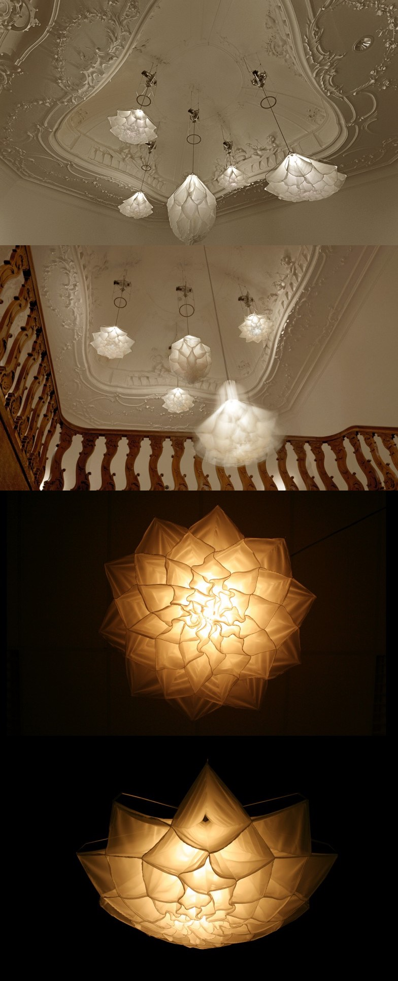 Wedo thiết kế đèn chiếu sáng độc đáo và sang trọng cho nhà hiện đại