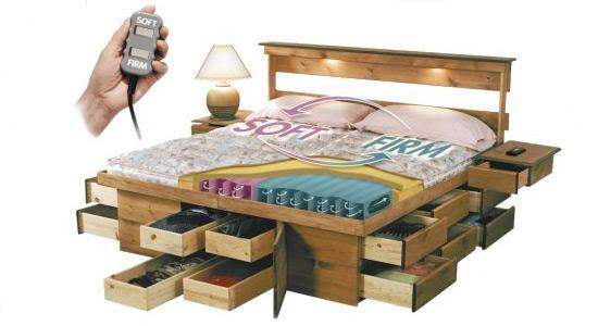 Wedo thiet ke giuong da nang cho khong gian phong ngu nho 13 Chia sẻ những mẫu giường thông minh dành cho phòng ngủ nhỏ