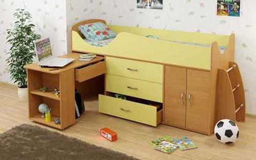 Wedo thiet ke giuong da nang cho khong gian phong ngu nho 16 Chia sẻ những mẫu giường thông minh dành cho phòng ngủ nhỏ