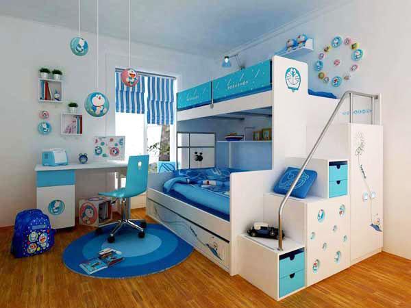 Wedo thiet ke giuong da nang cho khong gian phong ngu nho 22 Chia sẻ những mẫu giường thông minh dành cho phòng ngủ nhỏ