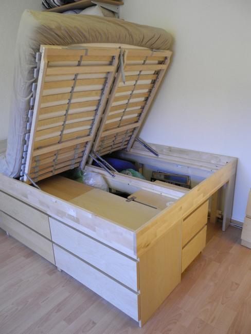 Wedo thiết kế giường ngủ tăng khả năng lưu trữ cho phòng ngủ nhỏ
