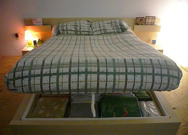 Wedo thiet ke giuong da nang cho khong gian phong ngu nho 29 Chia sẻ những mẫu giường thông minh dành cho phòng ngủ nhỏ